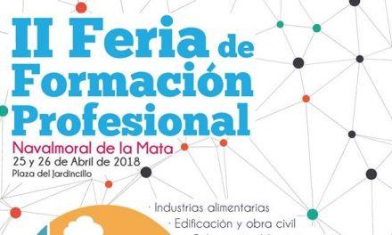 Navalmoral instala la II Feria de Formación Profesional