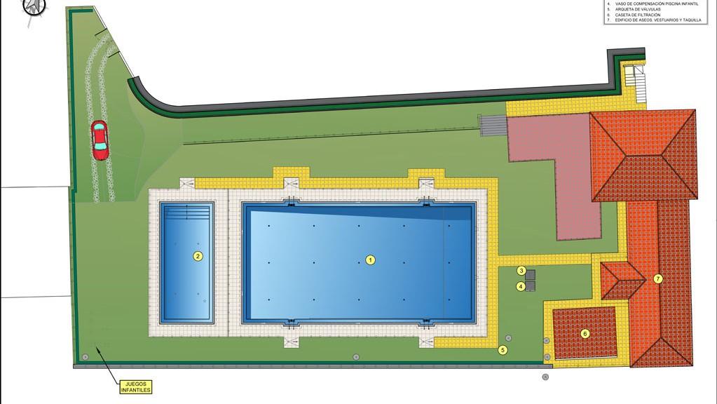 Casi 300.000€ para la reparación de la piscina de Valverde de la Vera