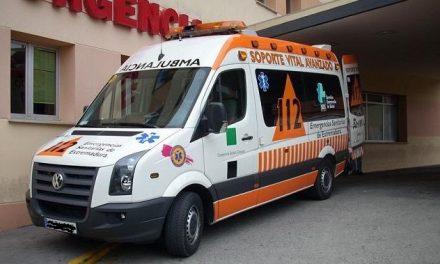 Un varón de 50 años herido en un accidente de moto en Casatejada.