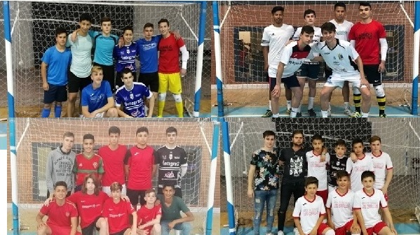 Finaliza con éxito la VI edición del Torneo Intercentros de fútbol sala