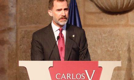 Felipe VI presidirá mañana la entrega del Premio Europeo Carlos V en el Monasterio de Yuste