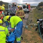 17 accidentes atendidos por el 112 Extremadura en la primera operación salida del verano