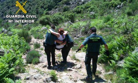 Dos mujeres heridas son rescatadas por la Guardia Civil en la Sierra de Guijo de Santa Bárbara
