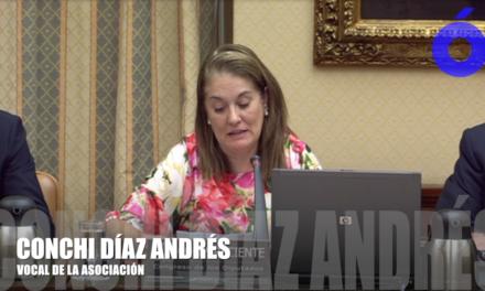 Conchi Díaz comparece en la Comisión de Investigación del accidente ferroviario ocurrido en Santiago