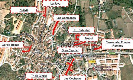 Comienzan las obras de pavimentación en calles y caminos de Madrigal de la Vera