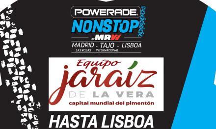"""El """"Team Jaraíz de la Vera Capital Mundial del Pimentón"""" de nuevo en la prueba ciclista Madrid-Tajo-Lisboa"""