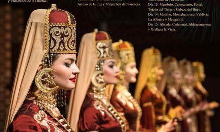 Navalmoral acoge el XXXII Festival Folklórico de los Pueblos del Mundo