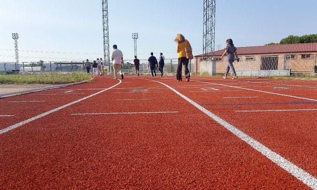 La pista de atletismo de Navalmoral se puede utilizar de nuevo