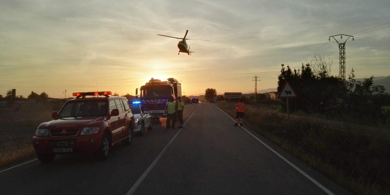 """19 accidentes atendidos por el 112 Extremadura en la Operación Especial de Tráfico """"1º de agosto"""""""