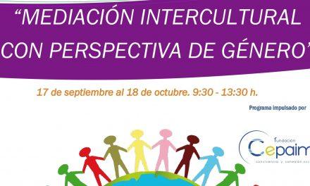 """Cepaim organiza un curso en """"Mediación Intercultural con Perspectiva de Género"""""""