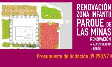 Navalmoral anuncia las obras de renovación y reparación del Parque de las Minas