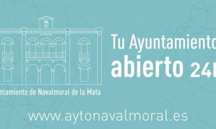 Tu Ayuntamiento abierto 24 horas, la nueva web del Ayuntamiento moralo