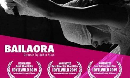 BAILAORA recibe 3 nominaciones en el Idyllwild Internacional 2019 en California (EEUU)