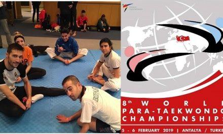 Gabriel Amado pasa a cuartos de final en el Cto. del mundo de Parataekwondo