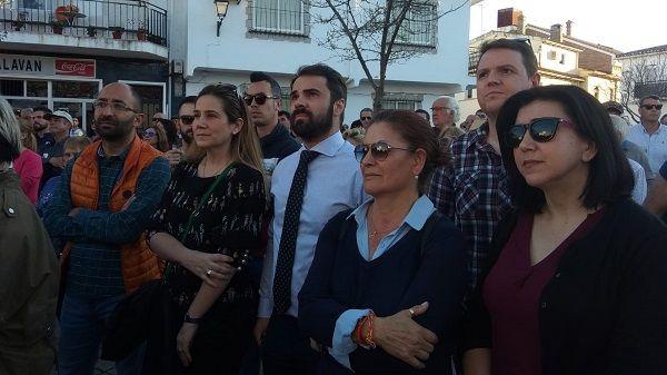 Ciudadanos acusa al PP de querer protagonizar el acto y hacerse la foto en la manifestación de Almaraz