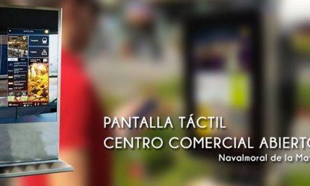 Navalmoral anuncia una Guía Local Táctil en la vía pública