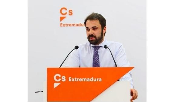 Acto de presentación de Ángel Muñoz de Cs Navalmoral como candidato a la alcaldía