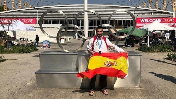 Gabriel Amado consigue medalla de plata en el Open de México