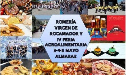 Almaraz celebra la romería de la Virgen de Rocamador y la Feria Agroalimentaria