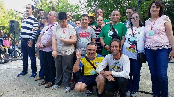 Con la entrega a los usuarios de APTO del Premio Nosolocirco, finaliza el VII Festival de Circo Contemporáneo de Extremadura