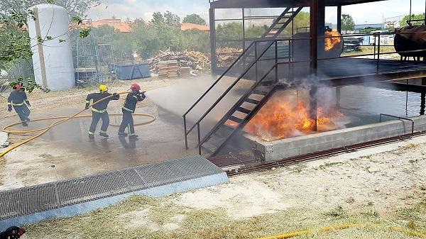 """Bomberos de CNA obtienen el 2° puesto en la """"Competición Nacional de Defensa Contra Incendios"""""""
