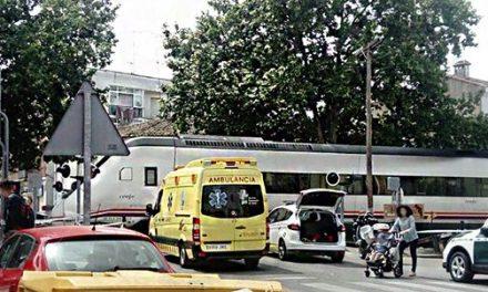 Muere una mujer arrollada por el tren en Navalmoral