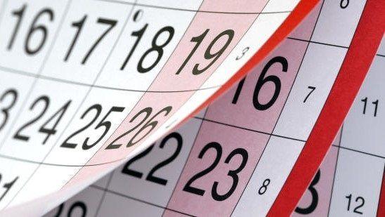 La Junta aprueba el calendario de días festivos para el año 2020