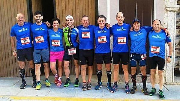 El club Fondistas Moralos participa en la V Carrera mini Pencona
