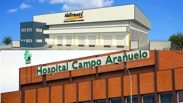 Navalmoral apueba las licencias de obra para la UCI en el hospital y la nave de Alditraex en Expacionavalmoral