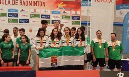 La Selección Extremeña de Bádminton 3ª en el Cto. de España de Selecciones Autonómicas