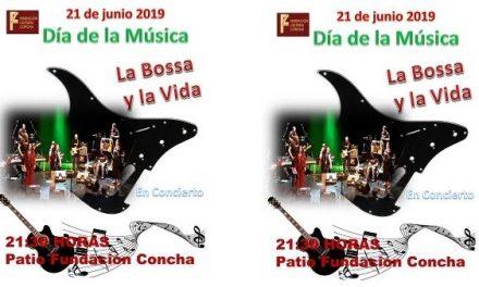La Bossa y la Vida celebra el Día de la Música en la puerta de la Fundación Concha
