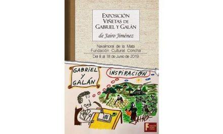 Jairo Jiménez expone sus viñetas sobre Gabriel y Galán, en la Fundación Concha