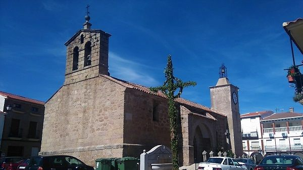 La iglesia de Bohonal de Ibor es la casa de un caudillo