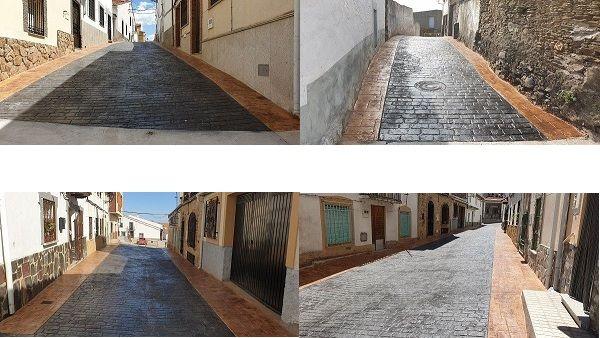 Finalizan en Casas de Miravete las obras de pavimentación pertenecientes al Plan Activa de Diputación
