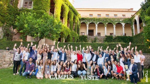 Campus Yuste 2019 finaliza habiendo participado alumnos de 19 países