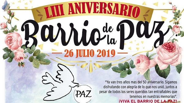 El barrio moralo de La Paz celebra su fiesta de aniversario