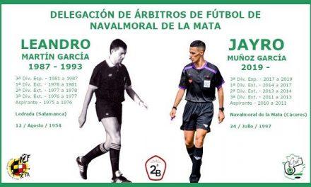 Asciende a 2ªB el árbitro moralo, Jayro Muñoz García