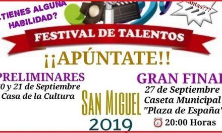 El concurso de Talentos regresa a las Fiestas de San Miguel de Navalmoral