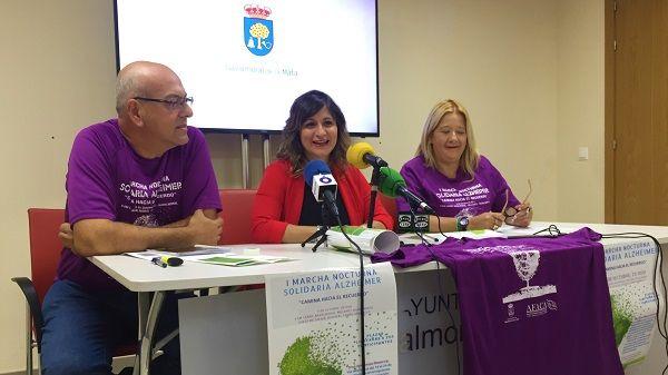 AFACA presenta la I Marcha Nocturna Solidaria Alzehimer