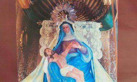 Programa de las celebraciones religiosas de la Virgen de las Angustias en Navalmoral