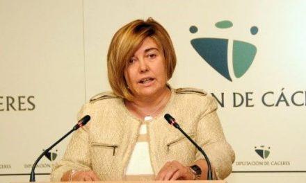 Charo Cordero, se reincorpora a la Presidencia de la Diputación