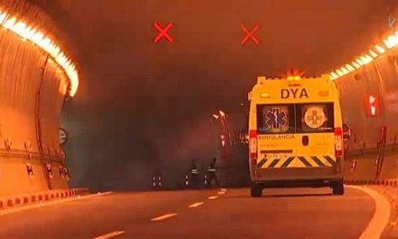 El simulacro de accidente con mercancías peligrosas mantendrá cerrado al tráfico los túneles de Miravete