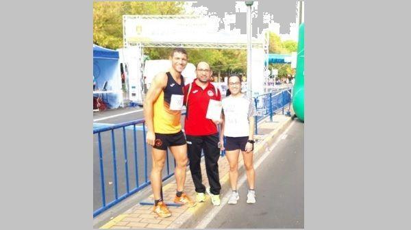 Jorge Campos, de Navalmaratón, segundo de su categoría en el XI 10 Km Ciudad de la Cerámica