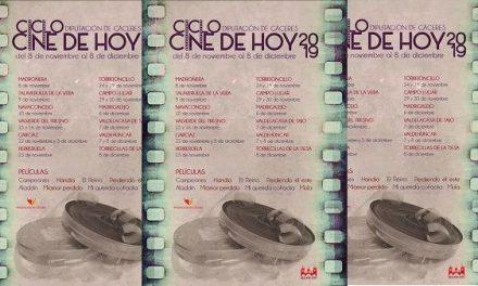 """Llega a Talaveruela de la Vera """"Cine de Hoy"""" el ciclo de cine de Diputación"""