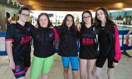 ADA comienza la temporada con su equipo infantil en el Circuito de Natación Diputación de Badajoz