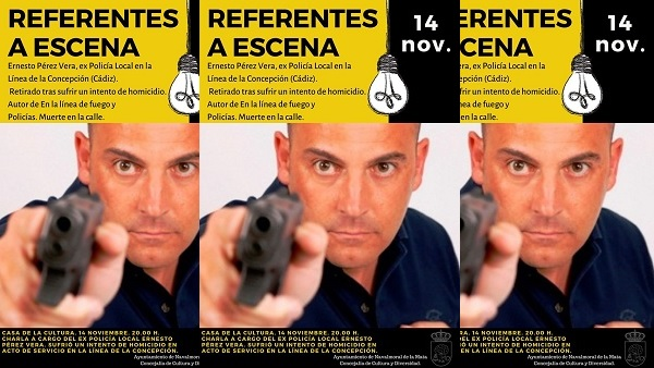El expolicía, Ernesto Pérez Vera, hablará hoy sobre la realidad de los enfrentamientos armados
