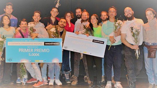 El coreógrafo Alberto Almazán, gana el VI Certamen DanzaXtrema 2019