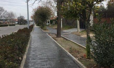 Concluyen en Almaraz las obras de mejora del pavimento y redes de la Avda. Constitución