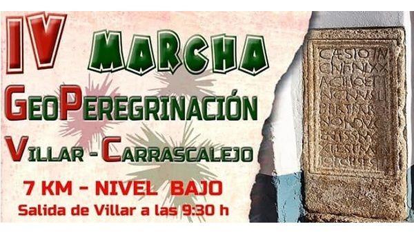 El C.R.A la Jara organiza la IV Marcha GeoPeregrinación Villar-Carrascalejo