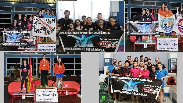 A.D.A. participa durante el fin de semana en diversas competiciones y disciplinas